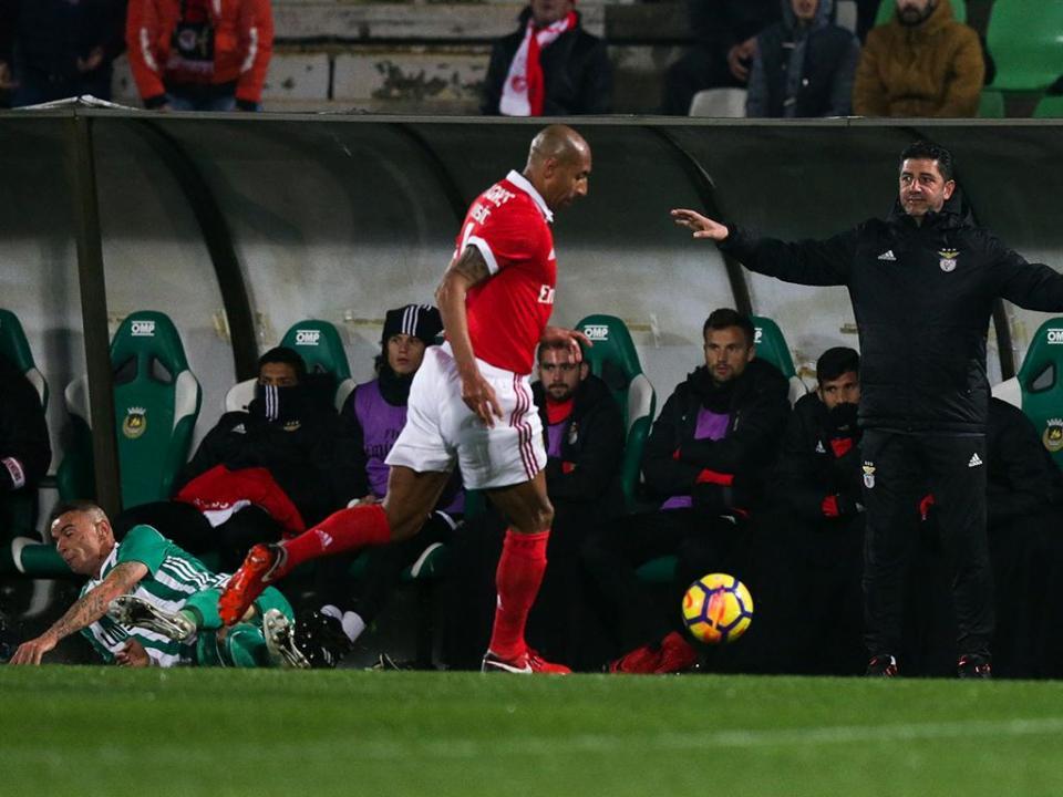 Benfica: Luisão tem paragem entre três a quatro semanas