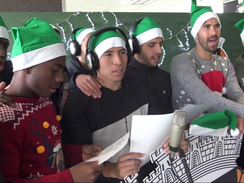 VÍDEO: a irreverente canção de Natal dos jogadores do Rio Ave