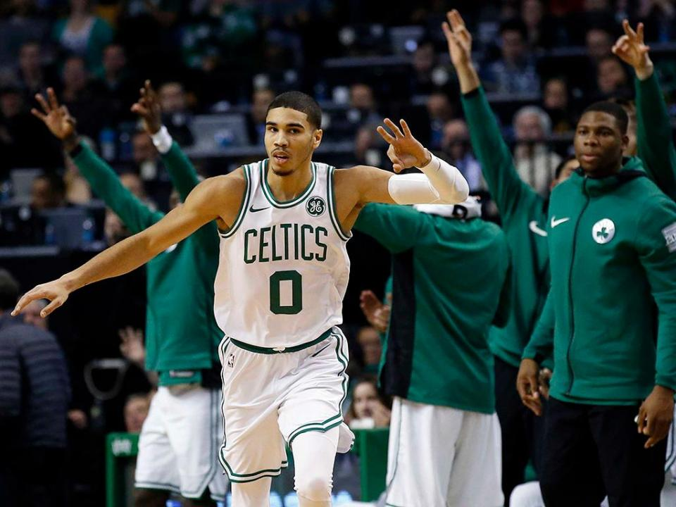 NBA: Celtics batem Rockets após recuperação de 26 pontos
