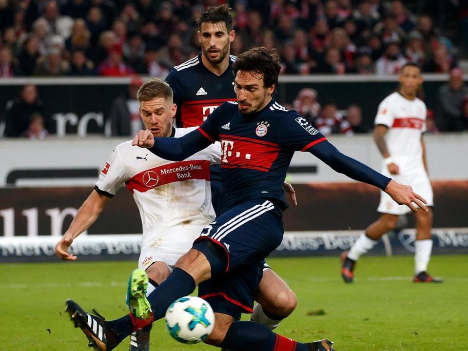 VÍDEO: Estugarda falha penálti no último minuto, Bayern vence