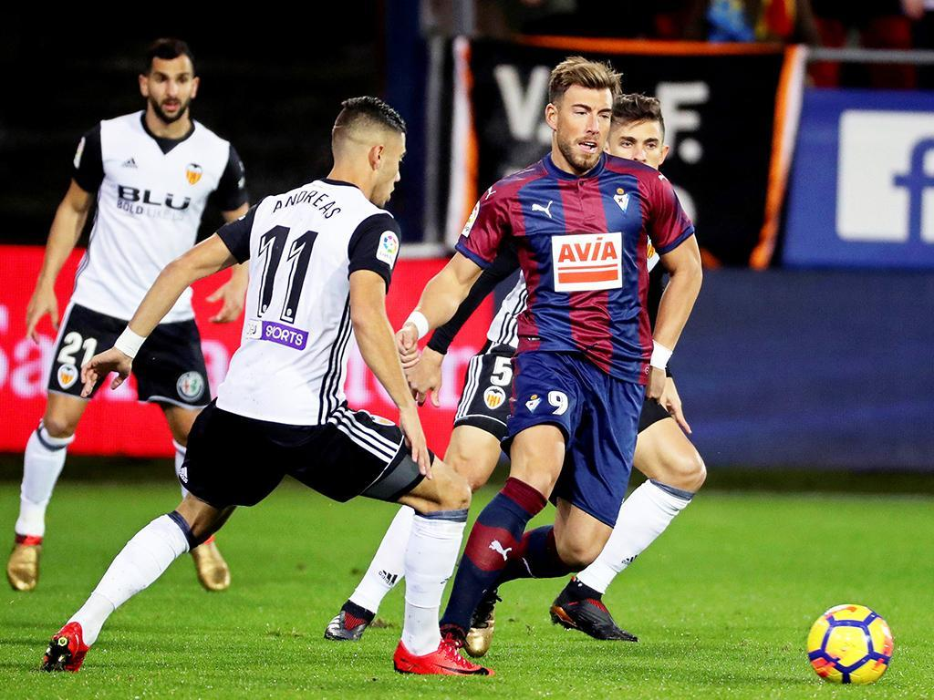 Valência perde duelo português e tem segundo lugar em risco — Espanha