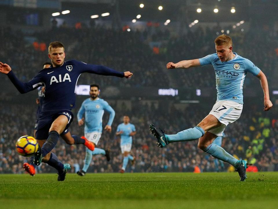 Inglaterra: City goleia Spurs e é líder com 14 pontos de vantagem