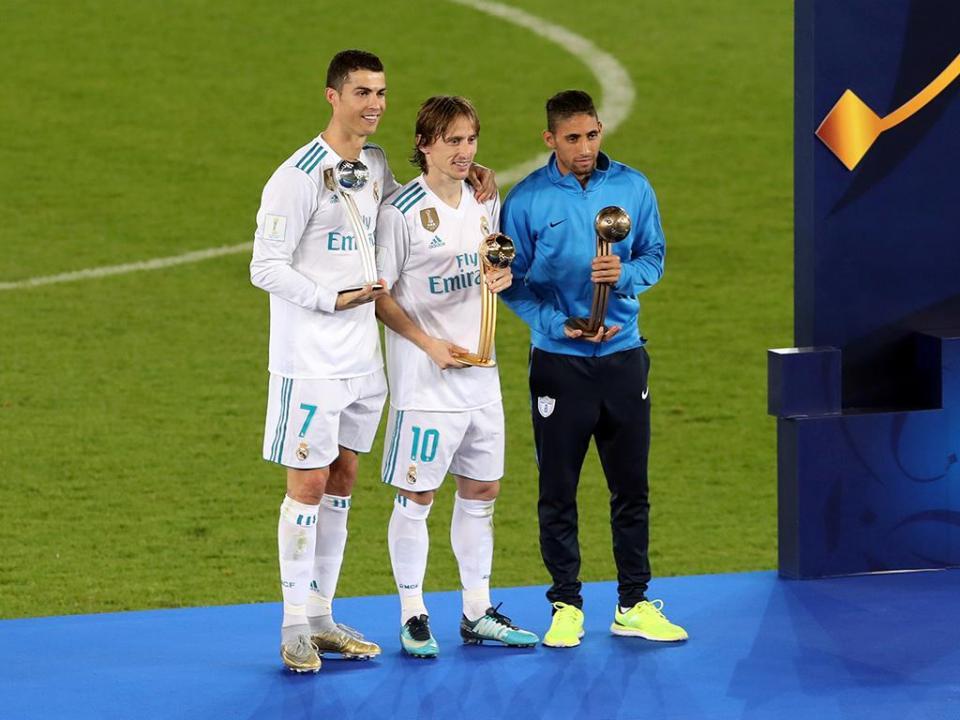 Modric bate Ronaldo como MVP do Mundial de Clubes