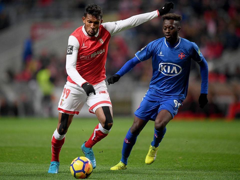 VÍDEO: Dyego Souza a confirmar o 2-0 do Sp. Braga