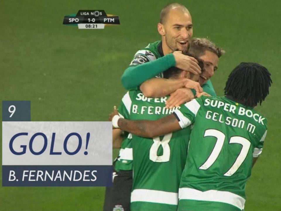 VÍDEO: grande assistência de Podence para o golo de Bruno Fernandes