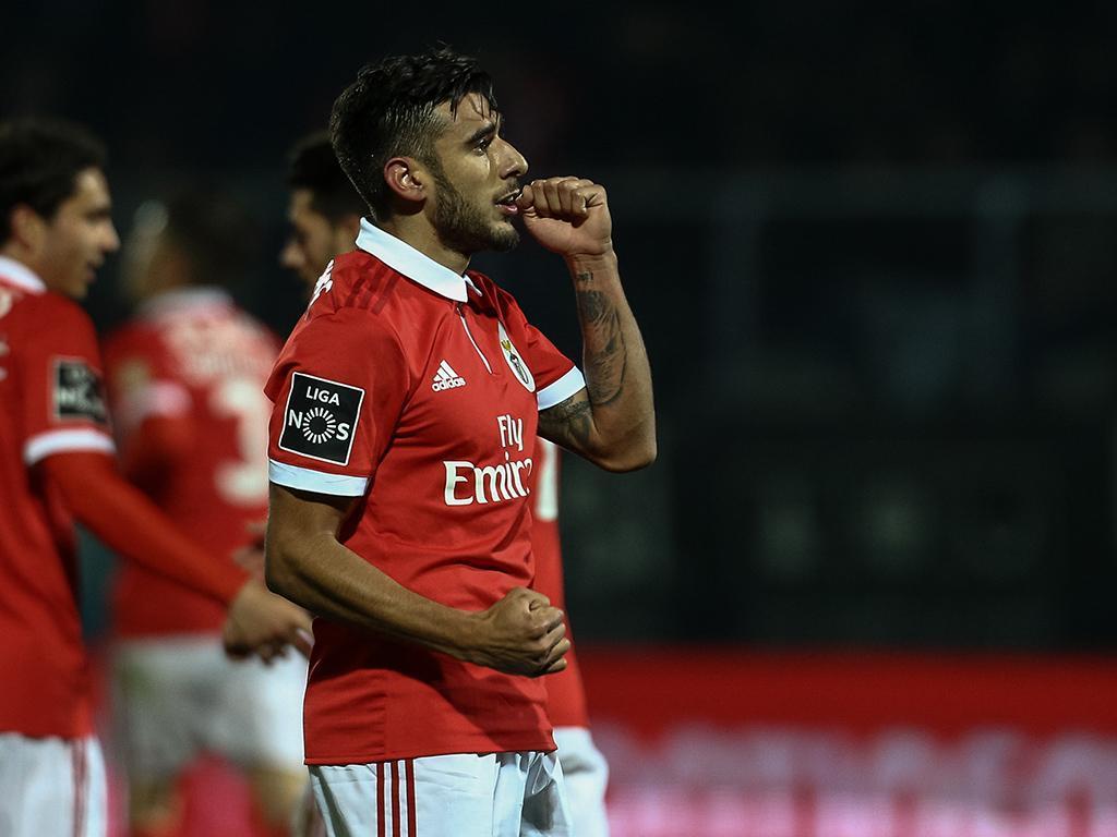 Benfica: Salvio foi operado, paragem de seis semanas