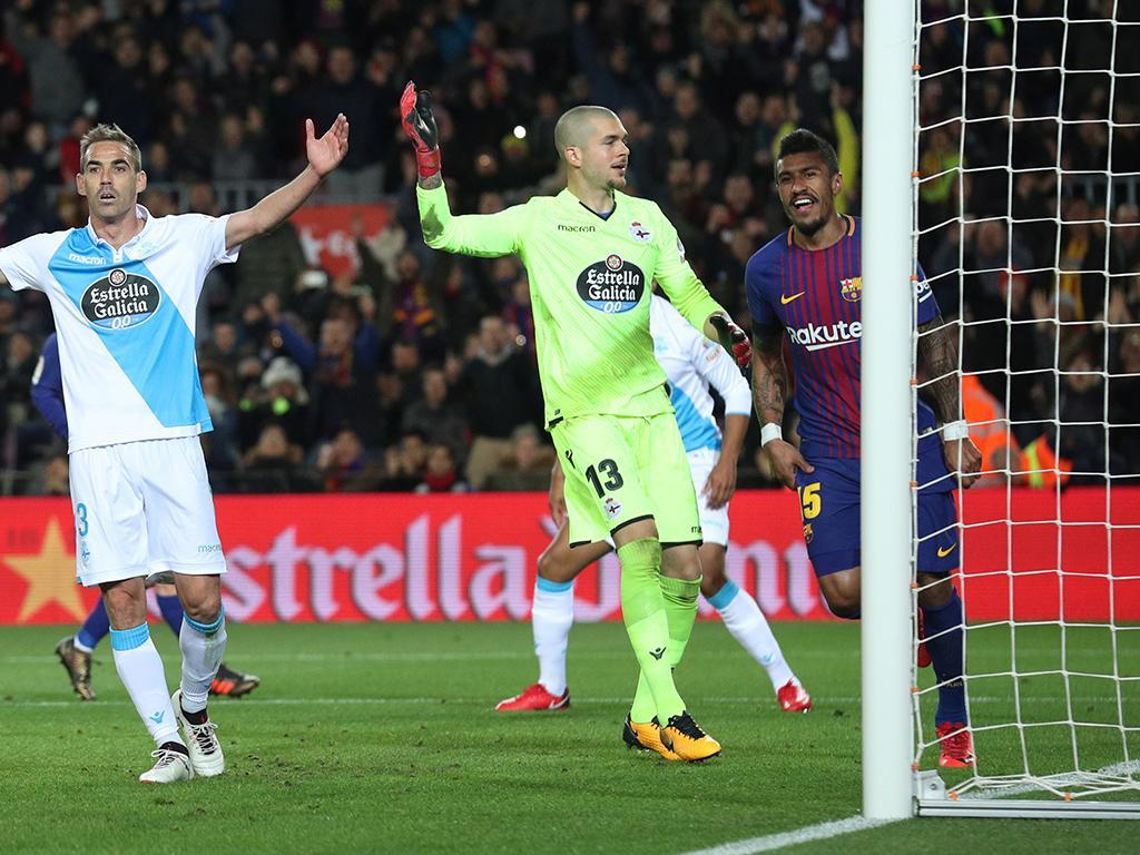 Paulinho e Suárez brilham em goleada do Barcelona sobre o La Coruña