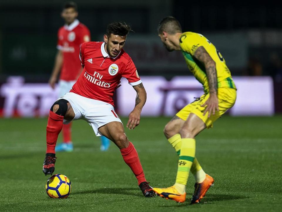 Tondela-Benfica, 1-5 (resultado final)
