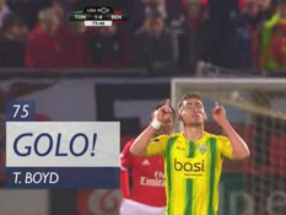 VÍDEO: Boyd reduziu diferença numa recarga (1-4)