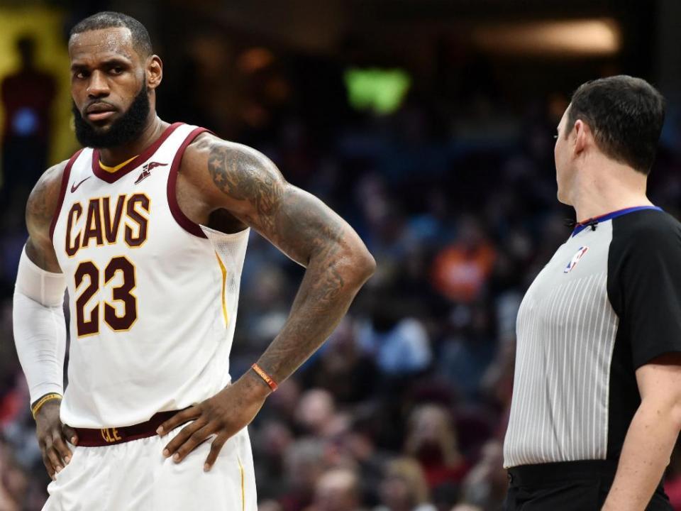 NBA: Cleveland Cavaliers nos «play-offs»