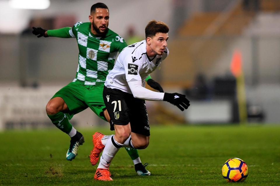 Moreirense-V. Guimarães, 2-1 (resultado final)