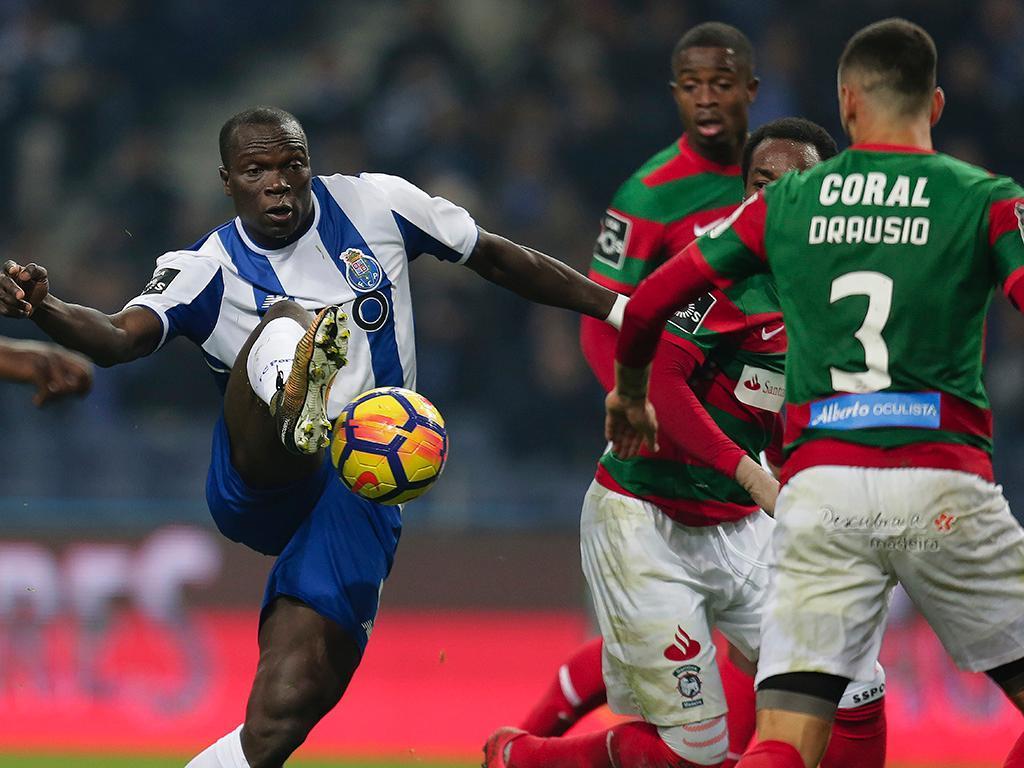 FC Porto: Aboubakar viaja para a Madeira