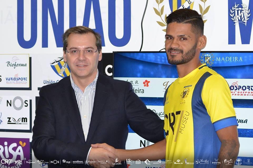 OFICIAL: Bruno Morais é reforço do U. Madeira