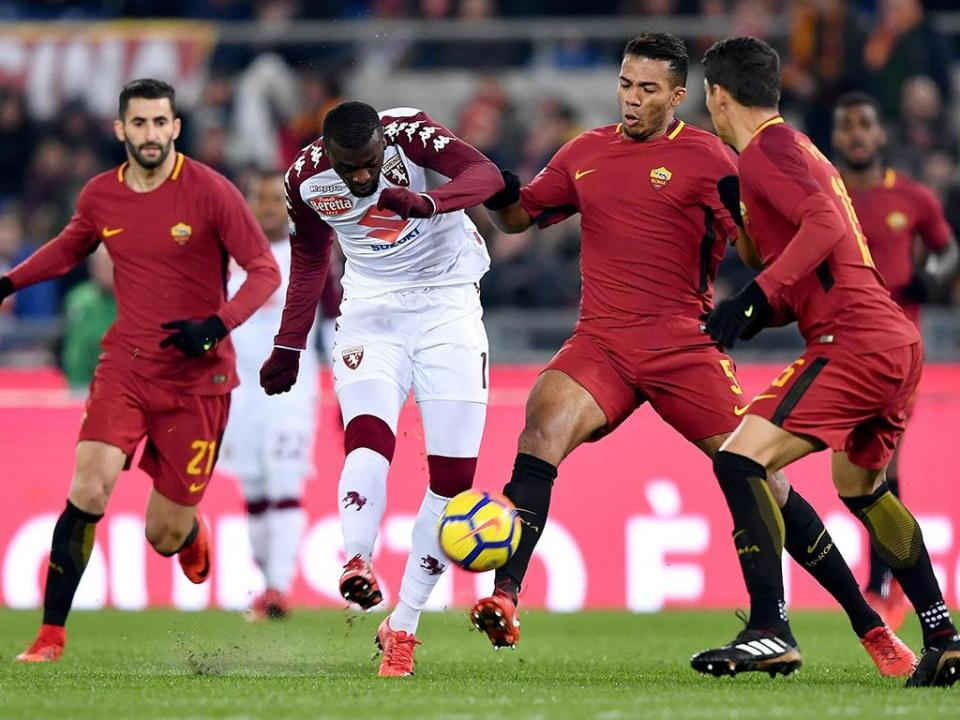 Taça de Itália: Roma eliminada no Olímpico