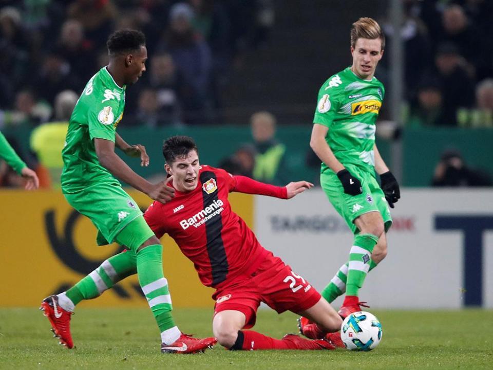 Alemanha: Leverkusen elimina Monchengladbach da Taça