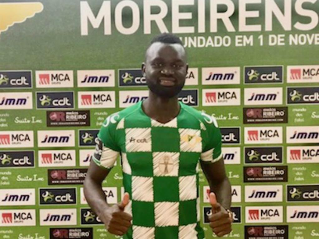Boubacar volta a Portugal para jogar no Moreirense