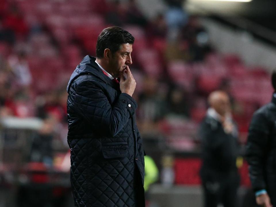 Rui Vitória: «Tínhamos o jogo controlado, mas a vida é mesmo assim»