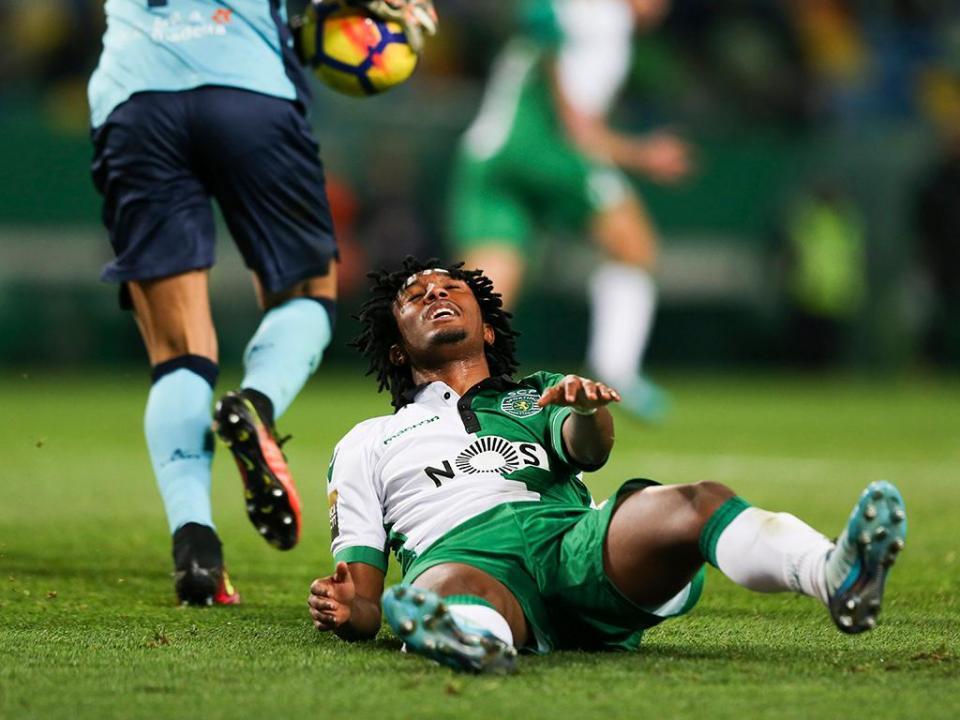 Sporting: Gelson continua ausente dos treinos