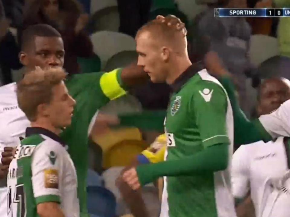 VÍDEO: Mathieu faz o segundo de cabeça