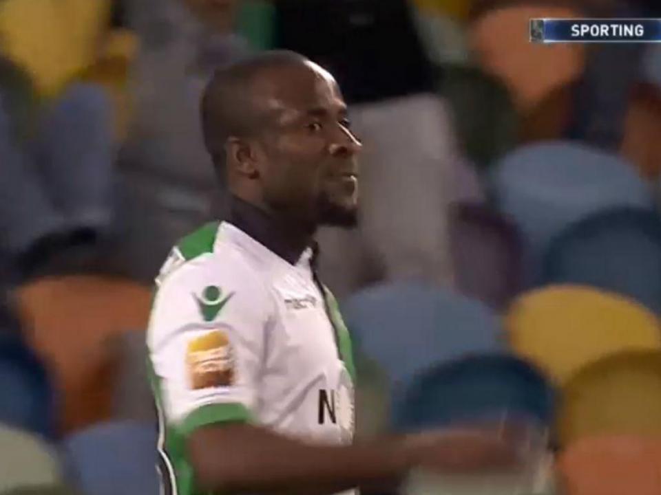 VÍDEO: Doumbia, no sítio certo, bisa e faz o terceiro do Sporting