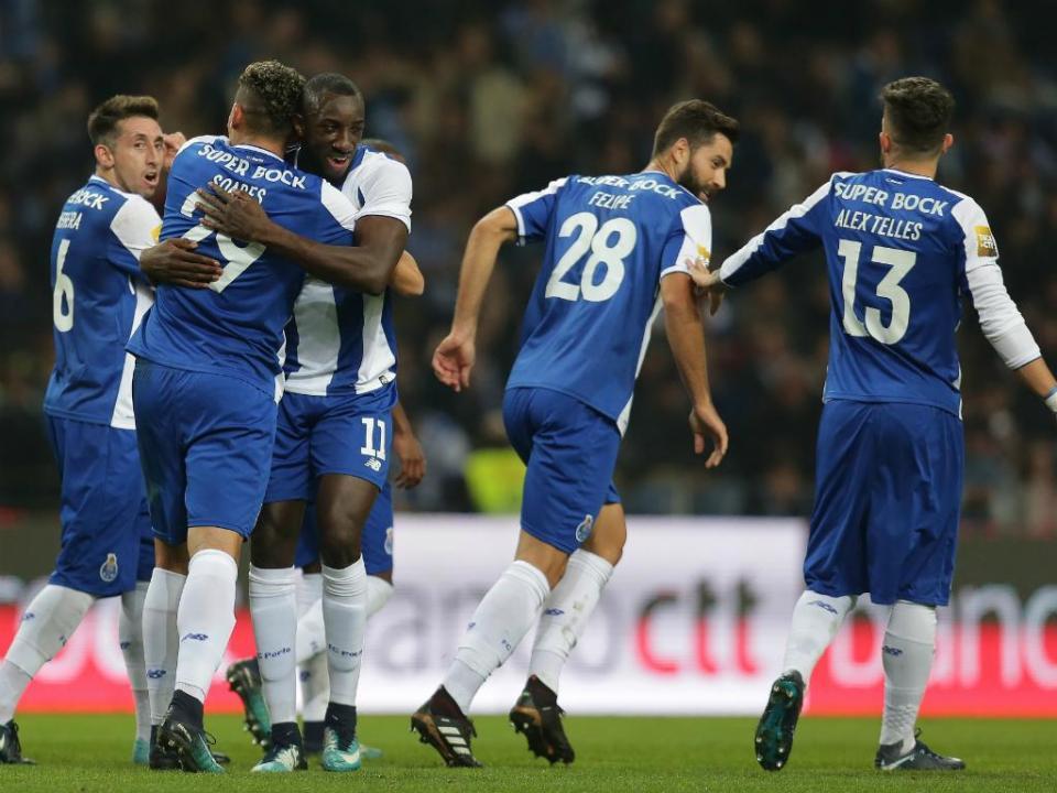 FC Porto na Taça da Liga: as contas para chegar a Braga