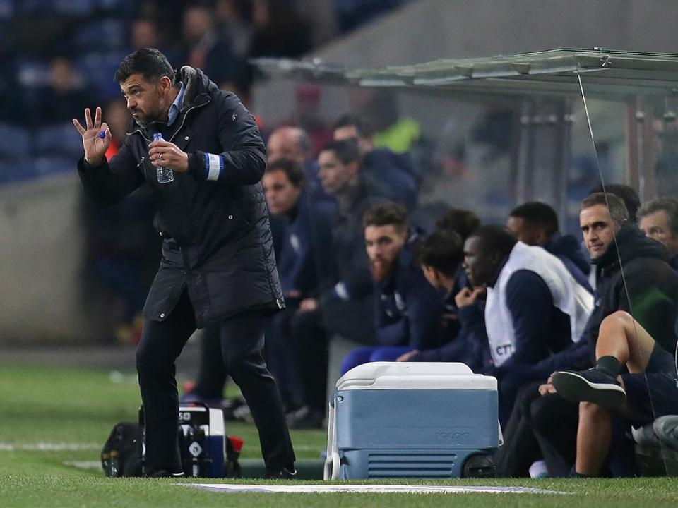 Conceição: «Ainda não ganhámos nada, mas estamos bem encaminhados»