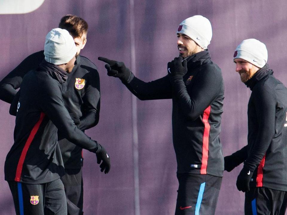 Barcelona: Messi, Jordi Alba, Busquets e Piqué de regresso