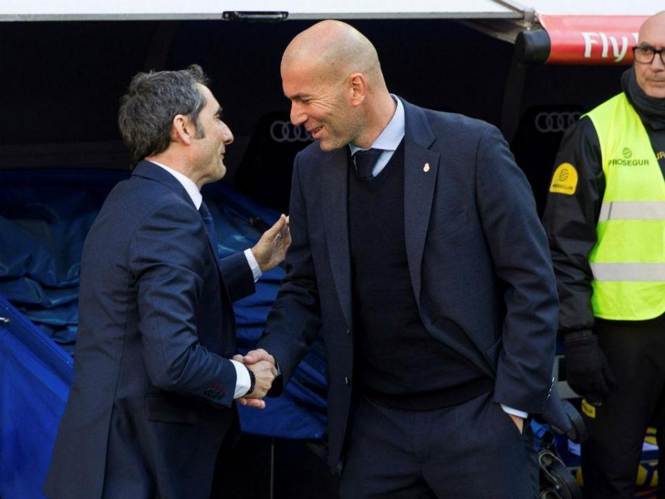 Real Madrid deu os «parabéns» ao Barcelona pela liga e Taça do Rei