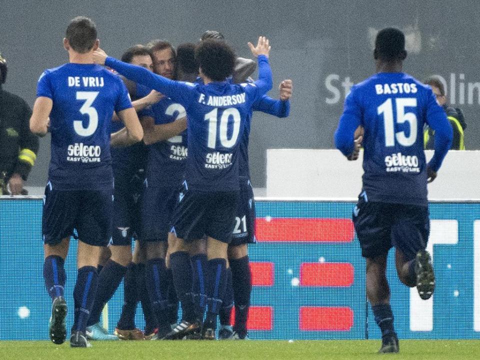 Lazio de Nani nas meias-finais da Taça de Itália