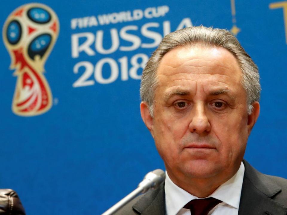 Rússia: Mutko deixa também Comité organizador do Mundial
