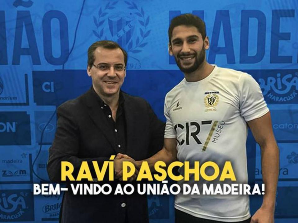 União da Madeira garante reforço brasileiro para a baliza