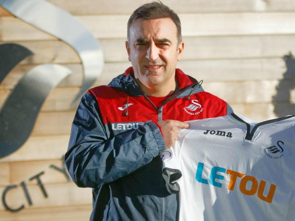 OFICIAL: Carvalhal é o novo treinador do Swansea