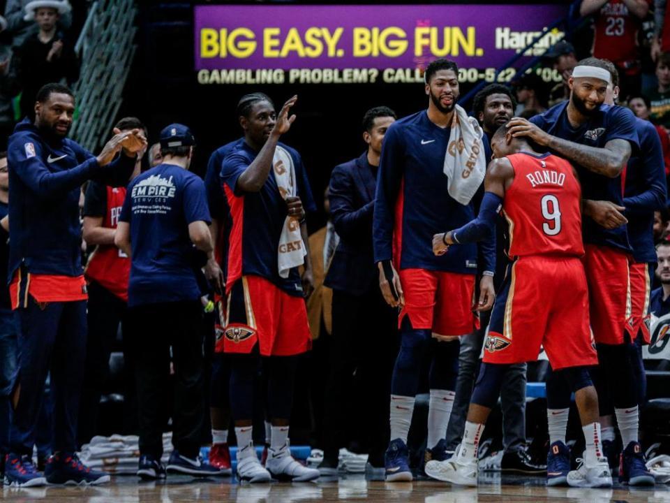NBA: Rondo atinge recorde de assistências dos Pelicans