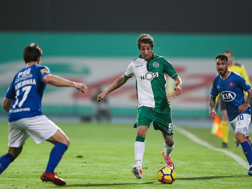 Belenenses-Sporting (equipas): Coentrão recuperou e é titular