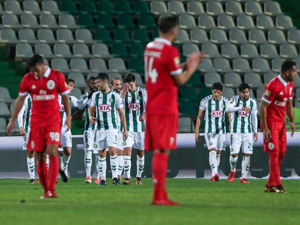 V. Setúbal-Benfica: antevisão e onzes prováveis