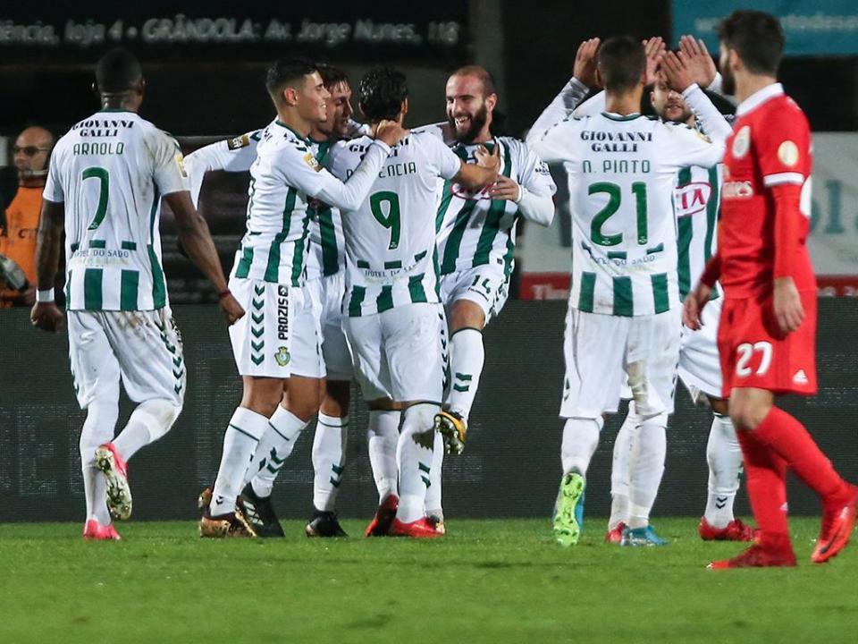 TL: V. Setúbal e Oliveirense discutem primeira vaga na final