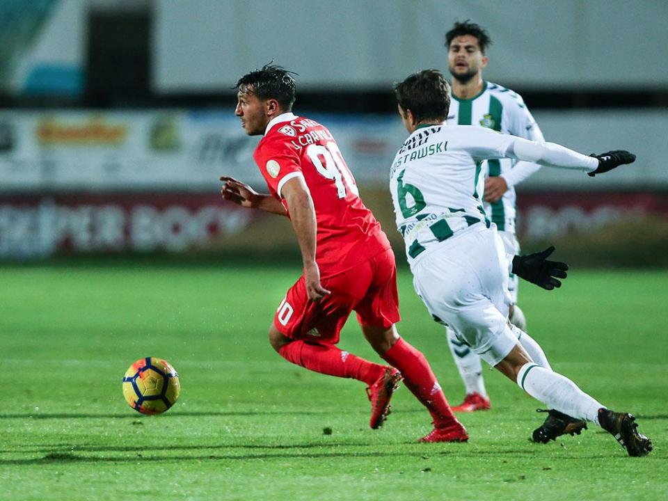 TL: V. Setúbal-Benfica, 2-2 (destaques)