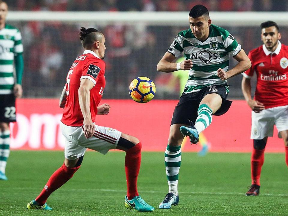 Sete jogadores em risco de falhar o dérbi Sporting-Benfica
