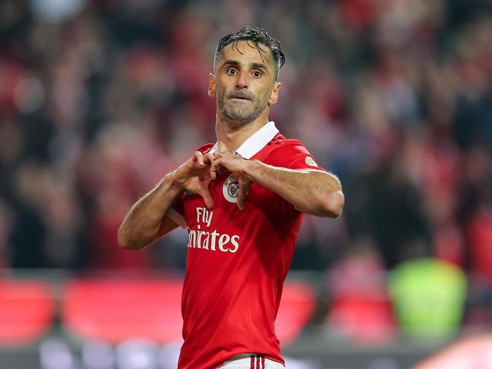 Benfica-Marítimo, 5-0 (destaques)