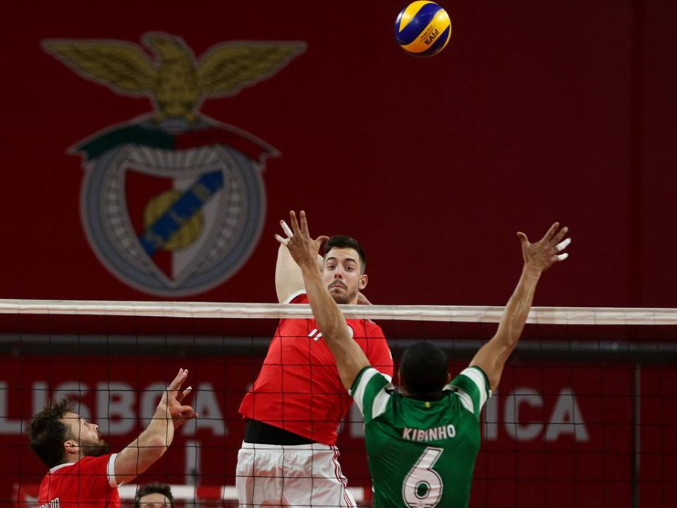 Voleibol: Benfica e Castêlo da Maia na final da Taça de Portugal