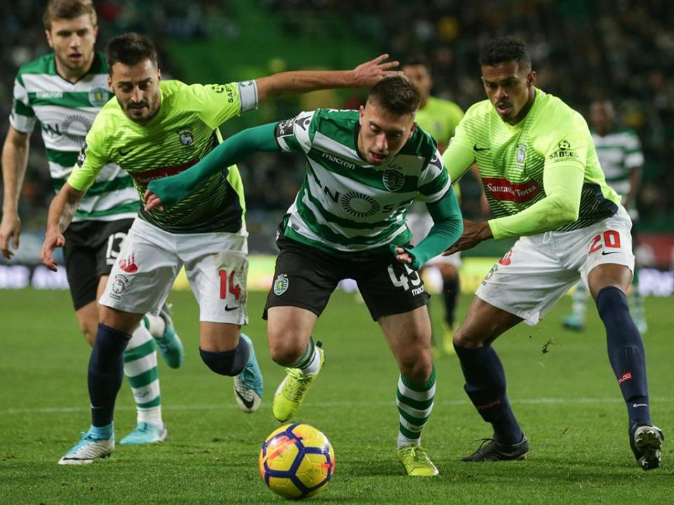 Marítimo-Sporting: antevisão e onzes prováveis
