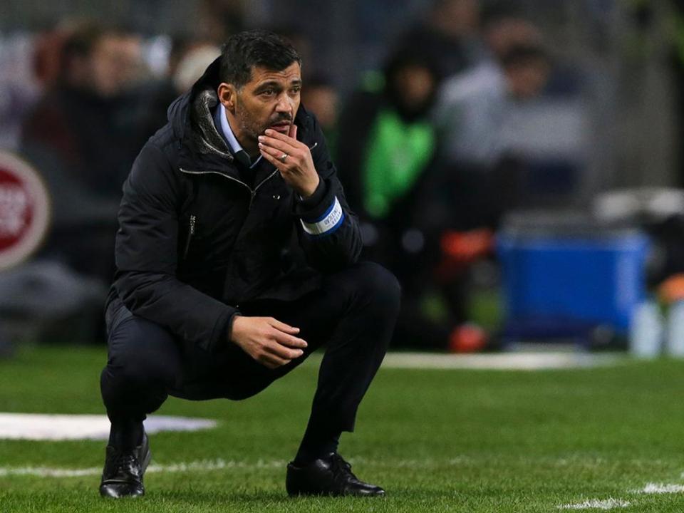 Sérgio Conceição: «Oferecemos o primeiro golo ao Liverpool»