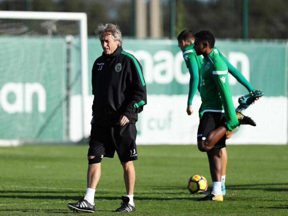 Sporting: William e Piccini treinaram no relvado
