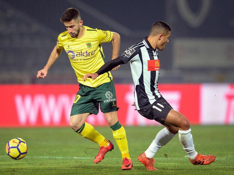 Liga: sete jogadores suspensos para a jornada 23
