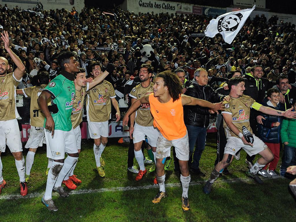 Caldas estreia-se nas meias-finais da Taça de Portugal