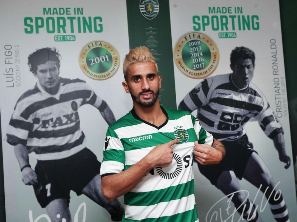 Sporting: Piccini e Mathieu de regresso, Rúben Ribeiro em estreia