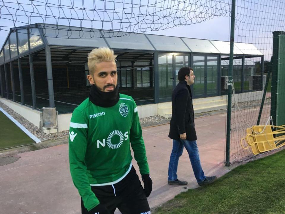 Sporting confirma à CMVM rescisão de Rúben Ribeiro