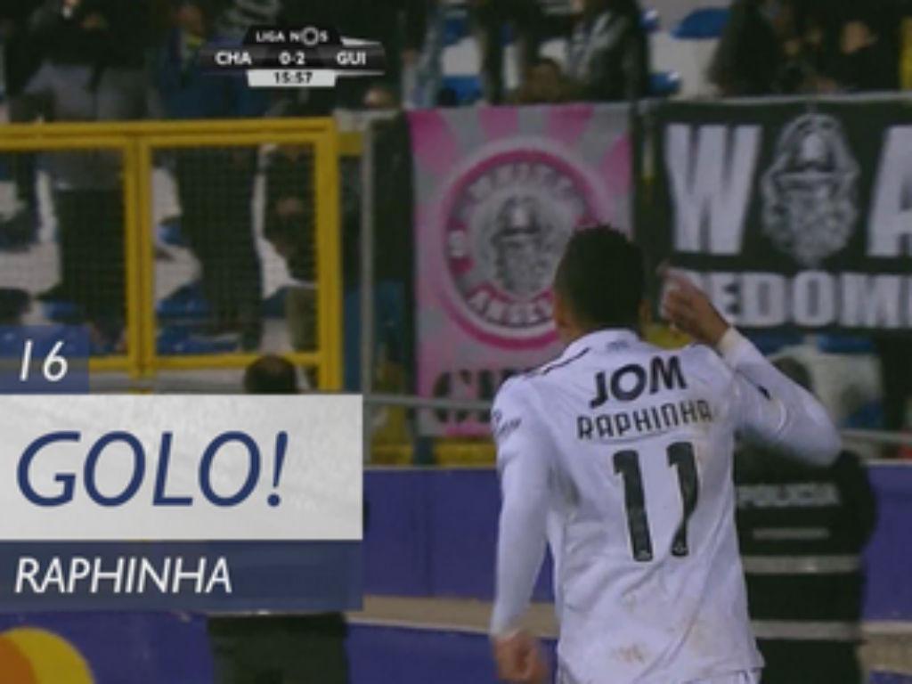 VÍDEO: depois da assistência, Raphinha também marcou