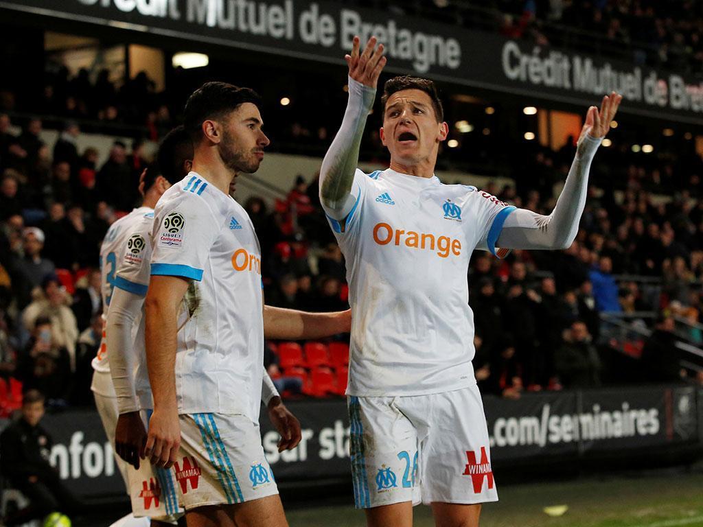 Atenção Sp. Braga: Marselha vence em Rennes sem Mitroglou