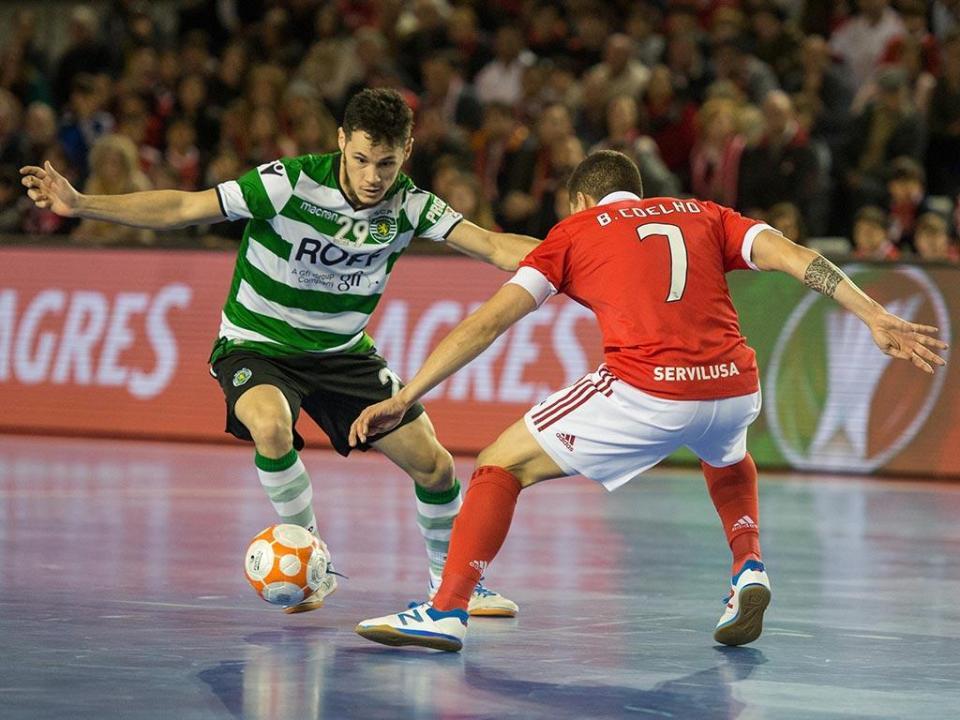 Futsal: Benfica contra Reguilas Tires, Sporting vai a Viseu
